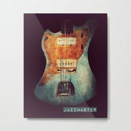 Jazzmaster Metal Print