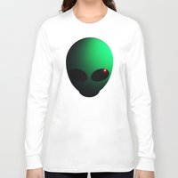 alien Long Sleeve T-shirts featuring Alien by Nicklas Gustafsson