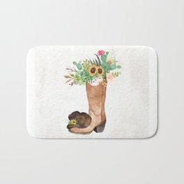 Southwestern Sunflower Bath Mat