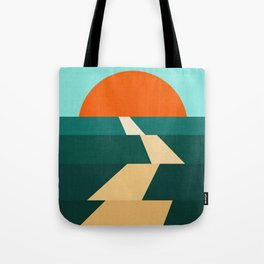 Abstract landscape XIII Tote Bag