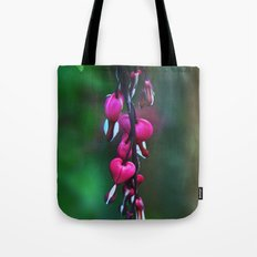 Watery Heart Tote Bag