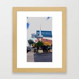 Mels Framed Art Print