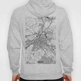 Bern Map Gray Hoody