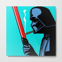 Vader Chillin Metal Print