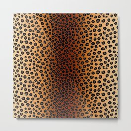 CHEETAH SKIN Metal Print