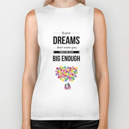 Lab No. 4 - Dream Typography Quotes Poster Biker Tank