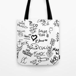 Graffitis Tote Bag