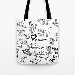 Graffitis Tote Bag