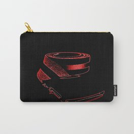 Red retro Belt Carry-All Pouch