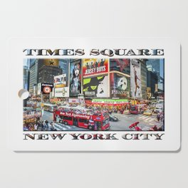 Times Square NYC (poster edition) Cutting Board