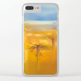 ''Heat'' by Diana Grigoryeva Clear iPhone Case