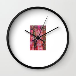 Mesmerism Wall Clock