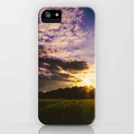 Underneath the Oklahoma Sky iPhone Case