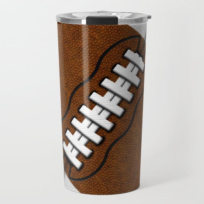 Fantasy Football Super Fan Touchdown Travel Mug