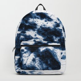 Boho Paper Tie-Dye Backpack