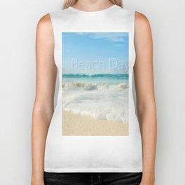 beach days Biker Tank
