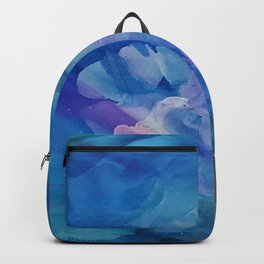 Bloom Up Abstract Backpack