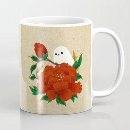 Minhwa: Crow-Tit and Peony A Type Coffee Mug