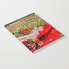 Beach Images Abstract Notebook