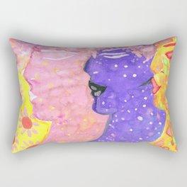 Nymphs Folk Art By AnyaC Rectangular Pillow