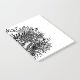 Coral Circle Notebook