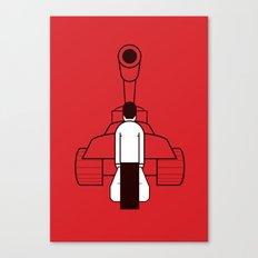Tankman Canvas Print
