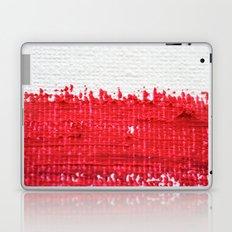 Red on Canvas Laptop & iPad Skin