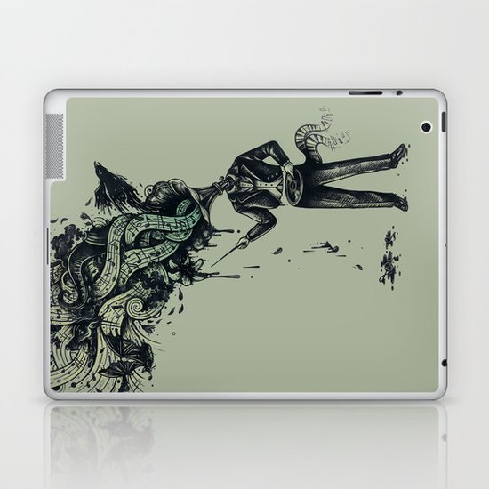 Decaying Sound of The Terror Laptop & iPad Skin