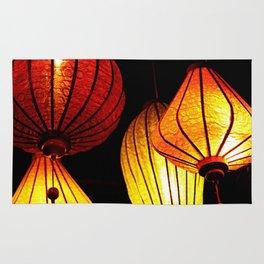 Neon Lanterns Rug