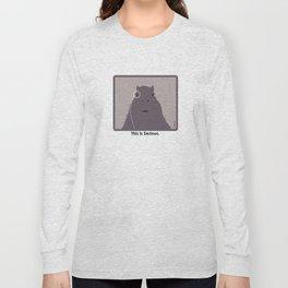 Professor Capybara III Long Sleeve T-shirt