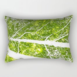 See the Forest for the Trees Rectangular Pillow