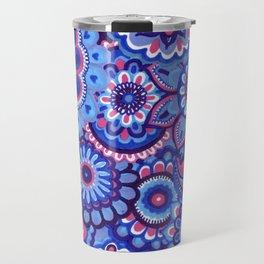 blue hope Travel Mug