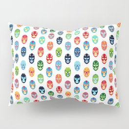 Lucha libre mask pattern Pillow Sham