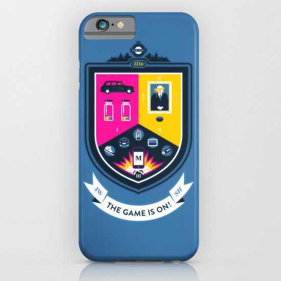 The Game is On! - blue version iPhone & iPod Case