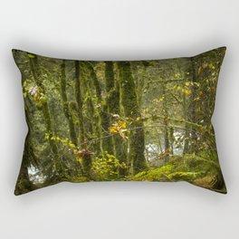 Portland Rainforest Rectangular Pillow