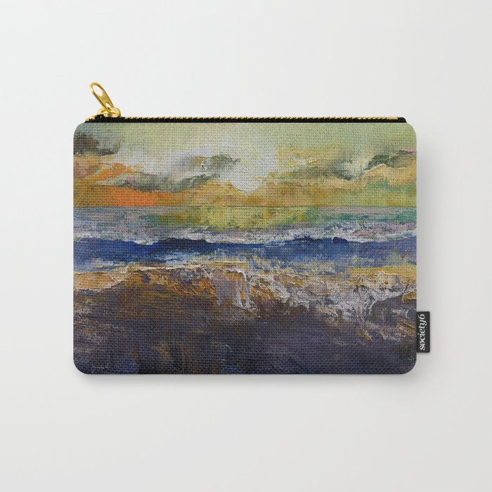 California Waves Carry-All Pouch