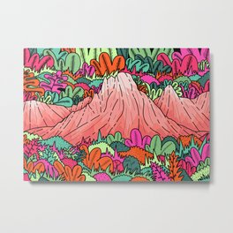 Junglemor mountains Metal Print