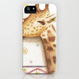 Jirafa-ntástica iPhone Case