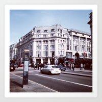Busy London Art Print