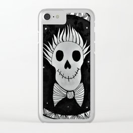 Gentle Bones Portrait Clear iPhone Case