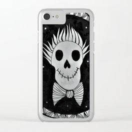 Gentle Bones Portrait Clear iPhone Case