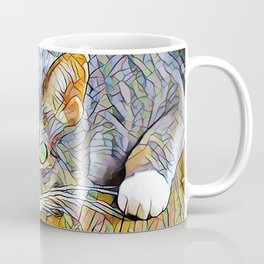 The TABBY II from our FUNK YOUR FELINE line Coffee Mug