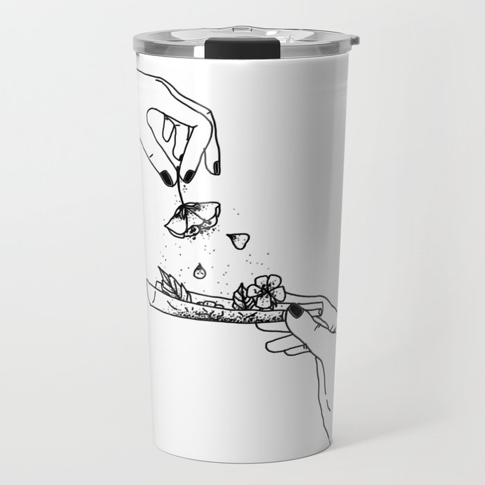 How to roll up your sadness? Travel Mug
