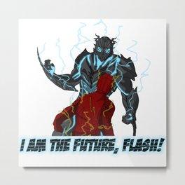 I am the Future, Flash! Metal Print