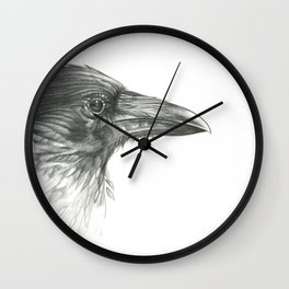 Deeper Into the Forest Wall Clock