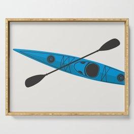 Kayak - Blue Serving Tray
