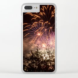 Canada day Clear iPhone Case