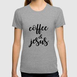 Coffee & jesus T-shirt