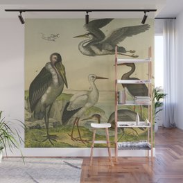 Flamingo & Friends Wall Mural
