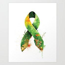 Nature Ribbon Art Print